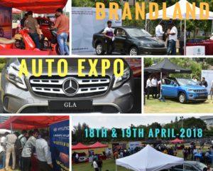 Auto Expo event in ITPB by brandland