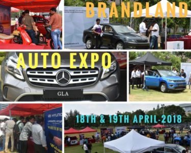 Auto Expo event in ITPB by brandland